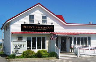 Helen S Restaurant Machias Maine